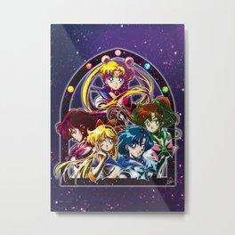 Sailor Moon S (Universe edit.) Metal Print