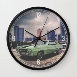 1970 Chevrolet Chevelle Decorative Wall Clock Wall Clock