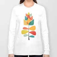 spring Long Sleeve T-shirts featuring Spring Time Memory by Picomodi