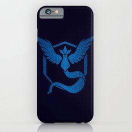 Team Mystic Sparkly blue sparkles iPhone Case
