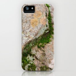 Yin Yang Moss Stone iPhone Case