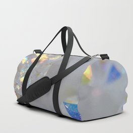 Aurora Borealis Crystals Duffle Bag