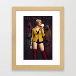 Ms Pachman Framed Art Print