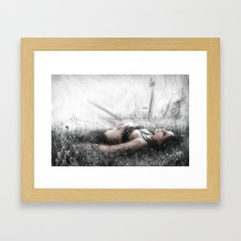 Secret by the Sea Framed Art Print