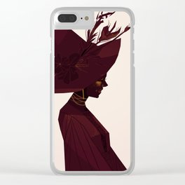 Witch's Hat Clear iPhone Case