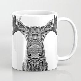 Tribal Moose Coffee Mug