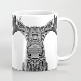 Tribal Moose Coffee Mug