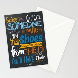 Jack Handey Stationery Cards