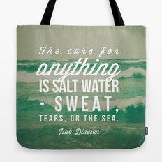 Salt Water Cure Tote Bag