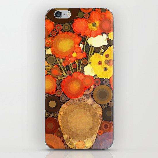 Gramma's Flowers iPhone & iPod Skin