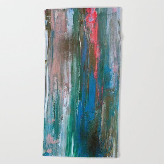 Abstract Painting #1 Beach Towel
