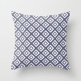 romanian popular motif Throw Pillow