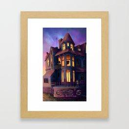 Nene's Mansion Framed Art Print