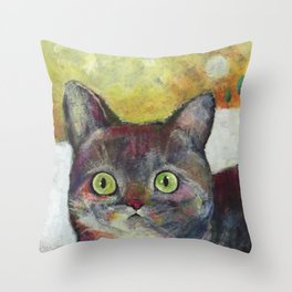 Cat3 Throw Pillow