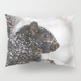Winter Sqirrel Pillow Sham