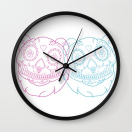 Prints for Pandas Wall Clock