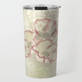 The temple bell stops but I still hear the sound coming out of the flowers. Travel Mug