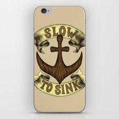 Slow to Sink iPhone & iPod Skin