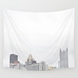 Skyline of Pittsburgh from the North Side Wall Tapestry