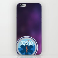 medical iPhone & iPod Skins featuring EOS 10, Alliance Medical by EOS 10