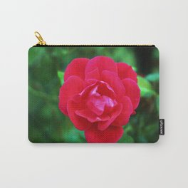 Pink Fall Rose Carry-All Pouch
