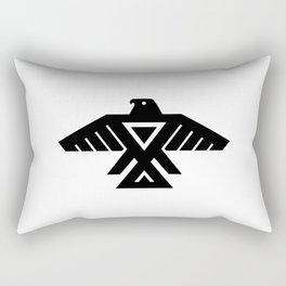 Native American Thunderbird Symbol Flag Rectangular Pillow