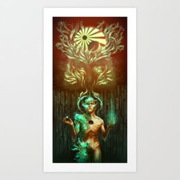 Becoming Seraphim Art Print