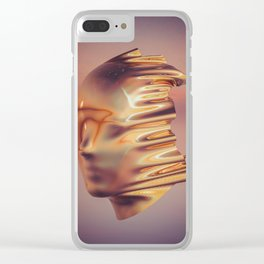 Mask Clear iPhone Case