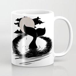 Whale Tail Tear Drop Coffee Mug