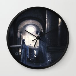 The shadows are deceiving Wall Clock