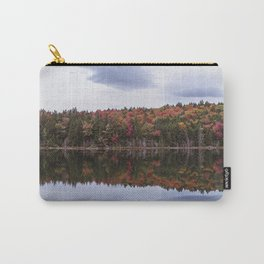 Autumn reflection Panorama Carry-All Pouch
