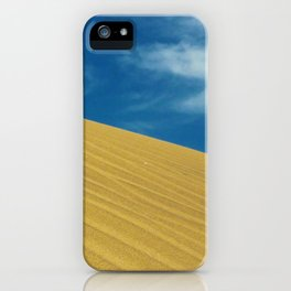 Waves Of Sand iPhone Case