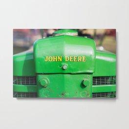 John Deere Metal Print
