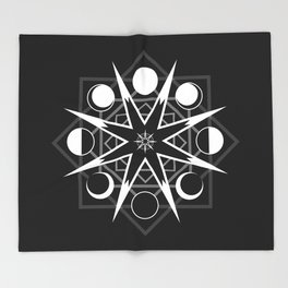 Wheel of Time One Throw Blanket