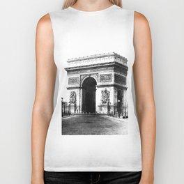 Arc de Triomphe de l'Etoile à Paris 1865 Biker Tank