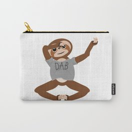 Sloth Dabbing Carry-All Pouch