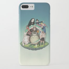 Ghibli: Bliss in Light iPhone Case