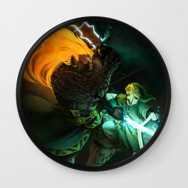 Zelda: Final Showdown Wall Clock