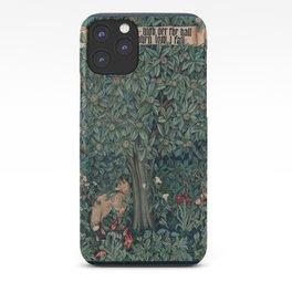 William Morris Greenery Tapestry iPhone Case