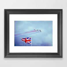 Armed Forces Day Framed Art Print