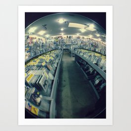 Amoeba Records, San Francisco  Art Print
