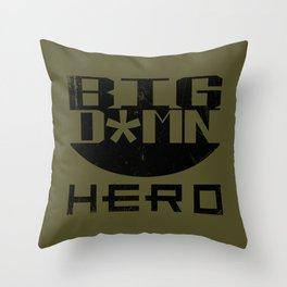 Big Damn Hero Throw Pillow