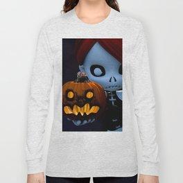 Rag Doll Halloween Long Sleeve T-shirt