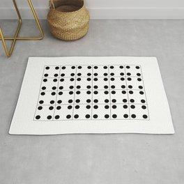 Geometric Pattern 70 (domino) Rug