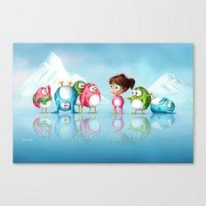 I'm a penguin too ! Canvas Print
