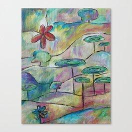 Pastel World Canvas Print