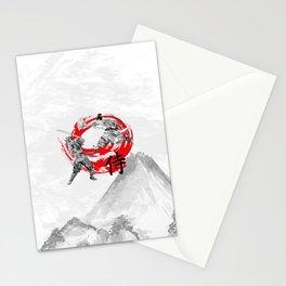 Samurai Warriors Stationery Cards