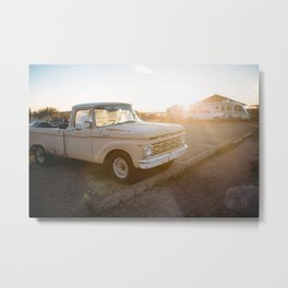 Built Ford Tough Metal Print