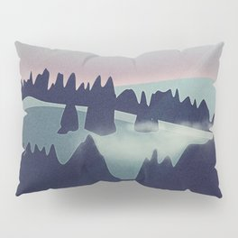 Castle in the Mountains Pillow Sham