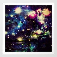 space traffic  Art Print